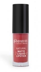 Benecos Trust in Rust Liquid Lipstick mat