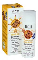 Veilige bio zonnebrandcreme baby en kind SPF45