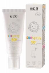 Eco cosmetics zonnespray baby en kids SPF50
