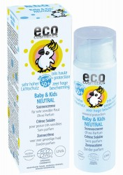 Eco Cosmetics zonnecreme spf50 baby