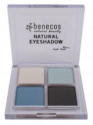 Benecos eyeshadow quattro true blue