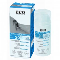 Eco cosmetics sun lotion factor 20 neutral