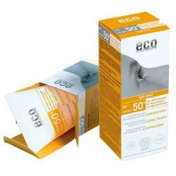 Eco Cosmetics zonnebrandcreme SPF50 licht getint