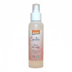 Natuurlijke deodorant spray floral zonder aluminium