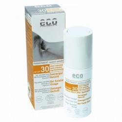 Eco Cosmetics zonnebrandgel gezicht spf30