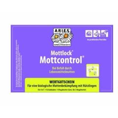 Aries mottcontrol - natuurlijke bestrijding bij meelmotten