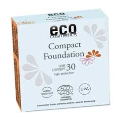 Bio compact foundation SPF30 Eco Cosmetics