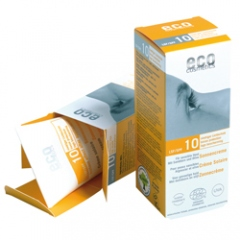 Eco cosmetics zonnebrandcrème factor 10