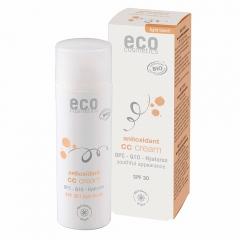 Eco Cosmetics CC creme SPF30 licht getint