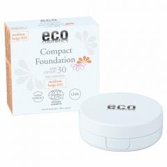 Eco Cosmetics foundation SPF30 Medium Beige