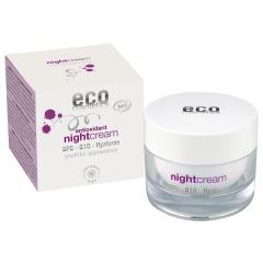Eco Cosmetics nachtcreme met OPC en hyaluron