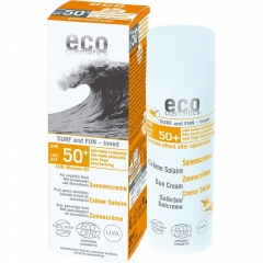 Eco cosmetics surf and fun