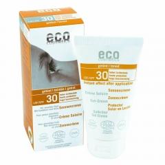Eco cosmetics zonnecreme SPF30 getint
