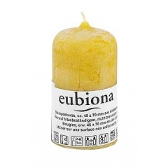 Eubiona stompkaarsje bijenwas