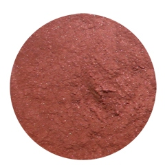Luminous shimmer blush hot chestnut