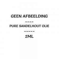 Natuurlijke sandelhout olie