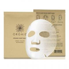 Orgaid vliesmasker met Griekse yoghurt