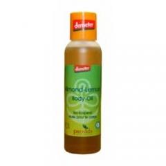 Bio body olie Demeter amandel en lemon
