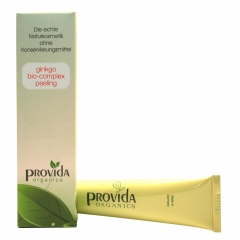 Zachte biologische gezichtsscrub van Provida