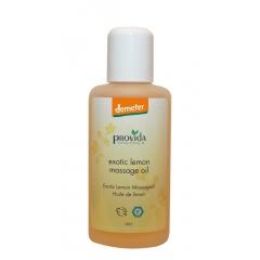 Bio massage olie Exotic Lemon