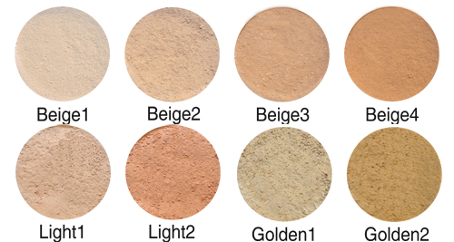 Minerale make-up concealer kleuren